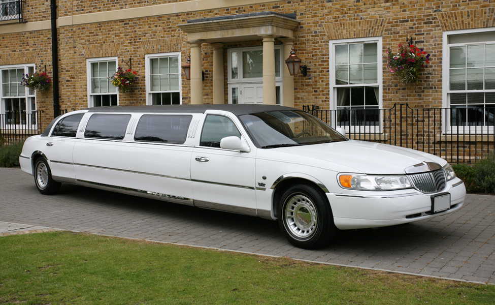 Our Tuxedo stretch limousine from the outside